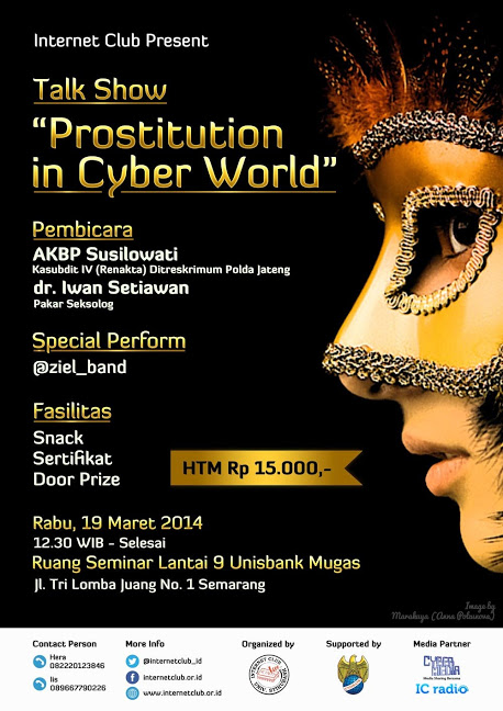 Poster Prostitution in Cyber World