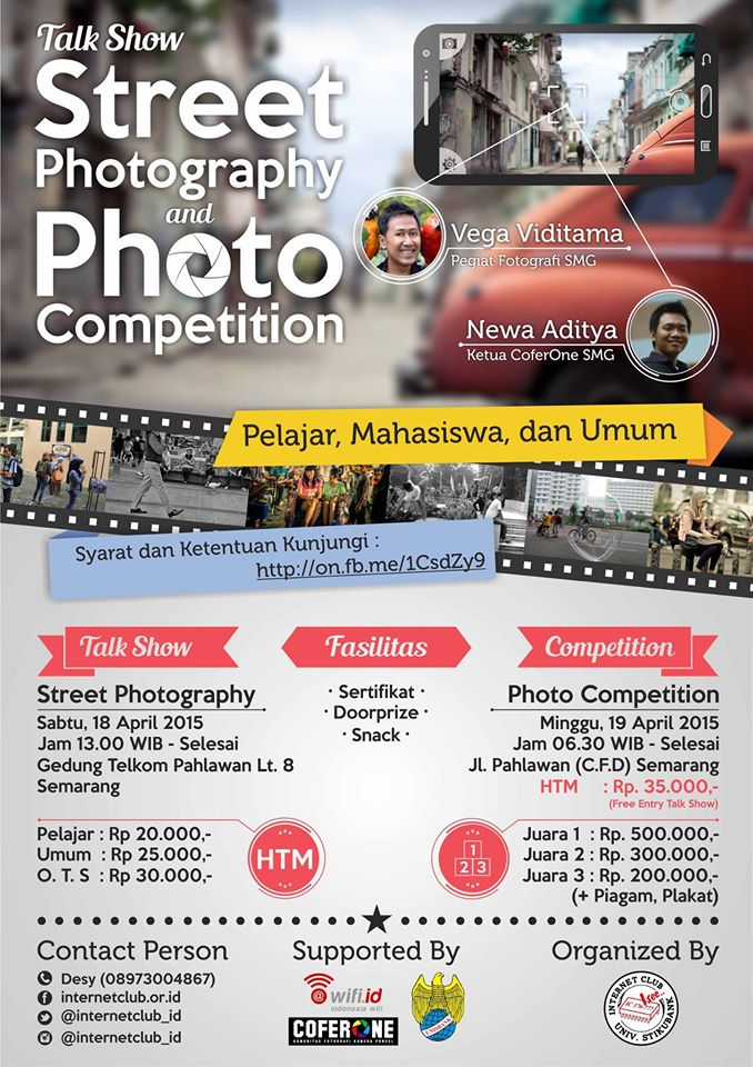 talkshow street photography and photo competition